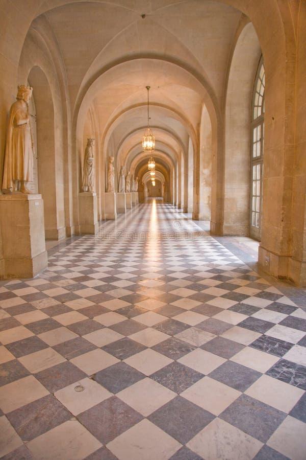 Castillo francés de Versalles imagen de archivo libre de regalías