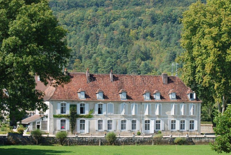 Castillo francés en Francia foto de archivo libre de regalías