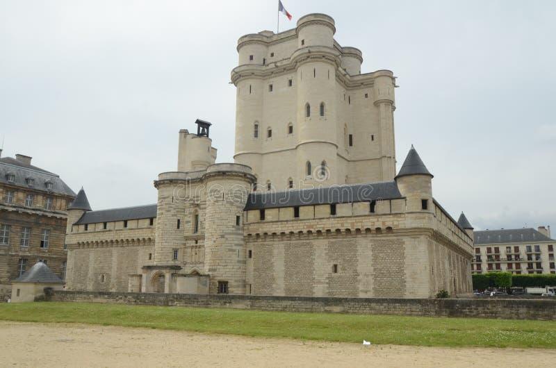 Castillo francés Vincennes fotografía de archivo libre de regalías