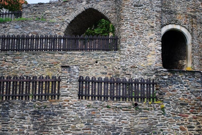 Castillo gótico fotos de archivo