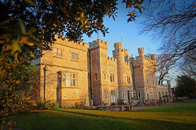 Castillo georgiano de Kent del período fotos de archivo libres de regalías