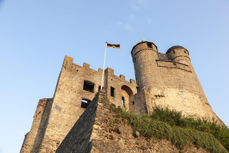 Castillo Greifenstein, Hesse, Alemania imagen de archivo