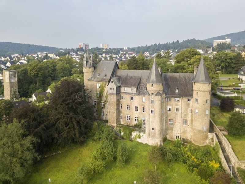 Castillo Herborn, Alemania imagen de archivo