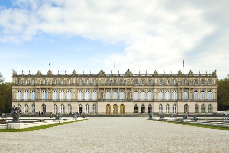 Castillo Herrenchiemsee imagenes de archivo