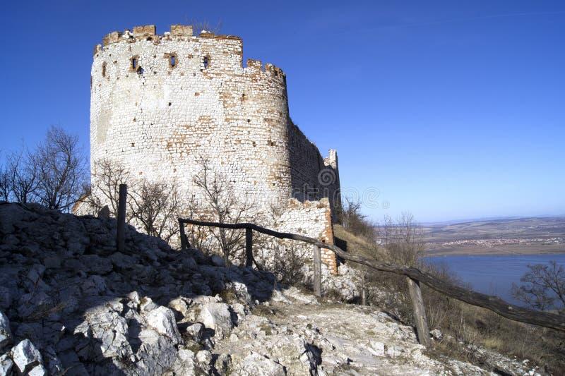 Castillo histórico DÄviÄky foto de archivo