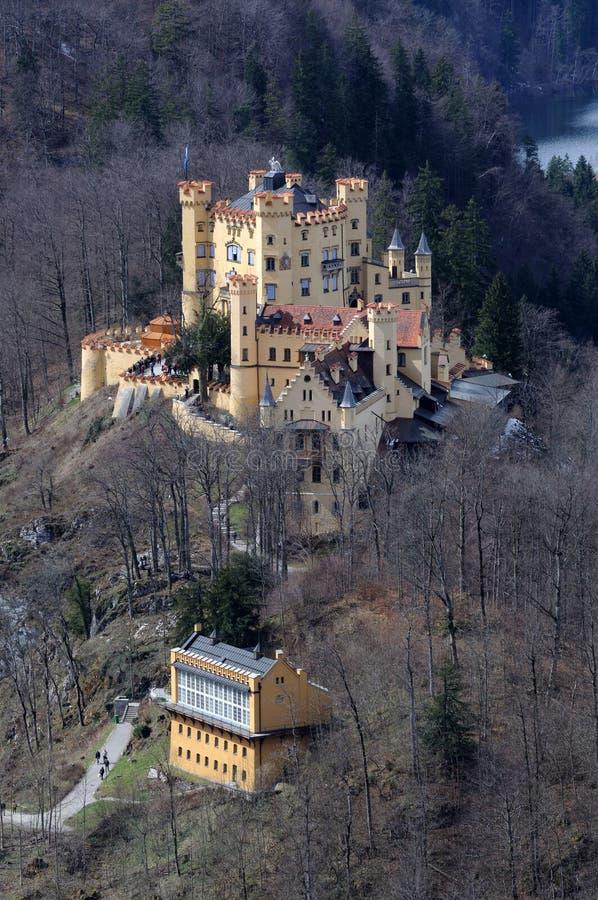 Castillo Hohenschwangau Alemania fotos de archivo libres de regalías