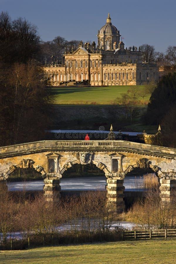 Castillo Howard en North Yorkshire - Inglaterra imagenes de archivo
