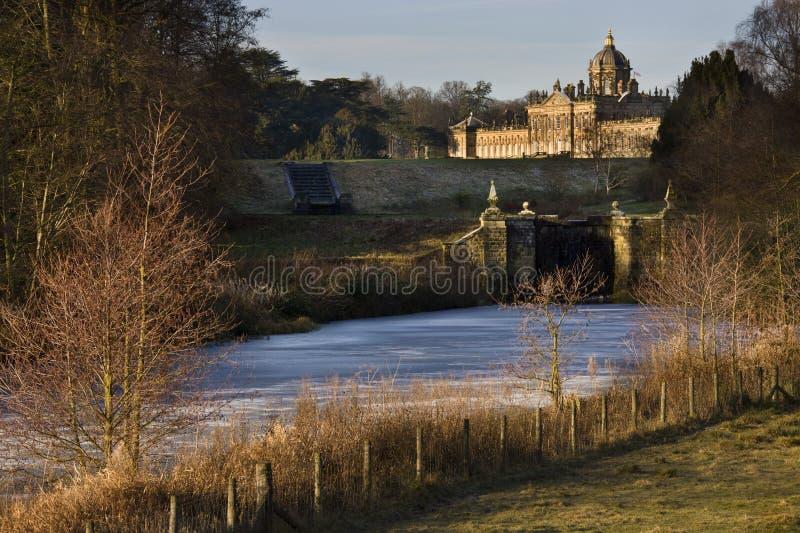 Castillo Howard - Yorkshire del norte - Inglaterra fotografía de archivo libre de regalías