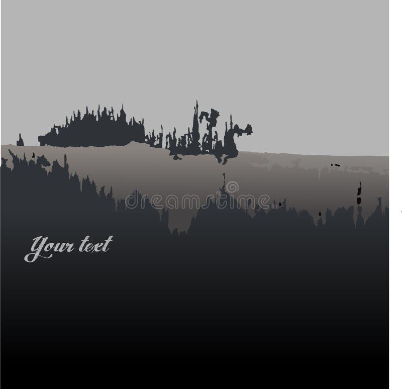 Castillo ideal del vector libre illustration