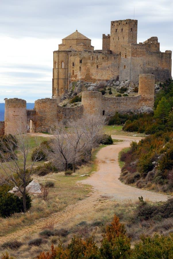 Castillo II de Loarre imagen de archivo libre de regalías