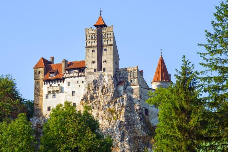 Castillo legendario del ` s de Drácula del salvado fotos de archivo libres de regalías