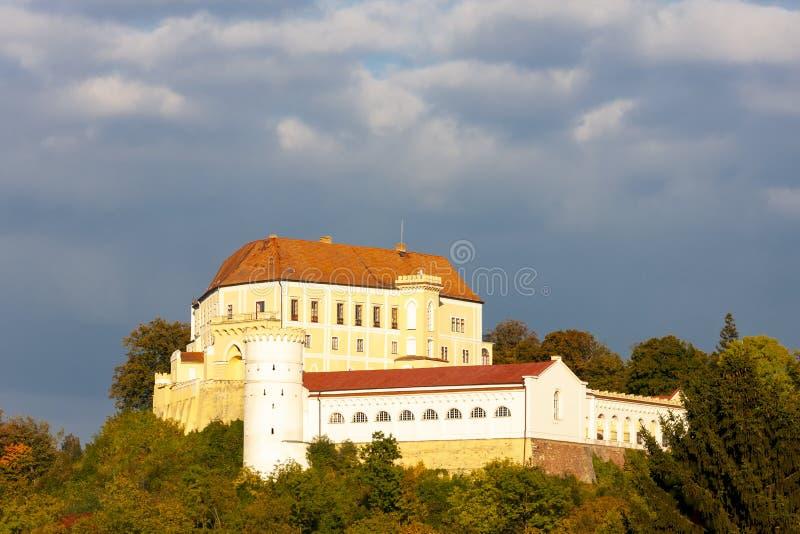 Castillo Letovice, Moravavia del Sur, República Checa imagen de archivo libre de regalías