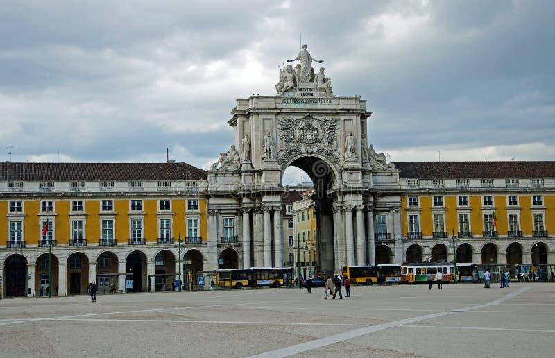 Castillo Lisboa fotografía de archivo libre de regalías