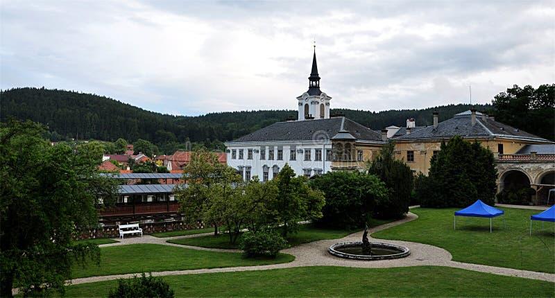 Castillo Lysice, República Checa, Europa foto de archivo libre de regalías