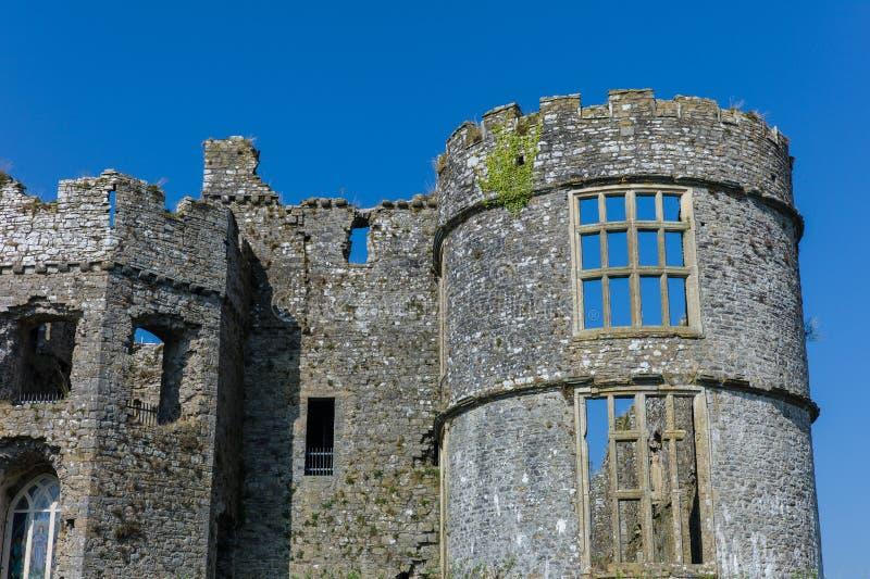 Castillo medieval de Carew foto de archivo libre de regalías