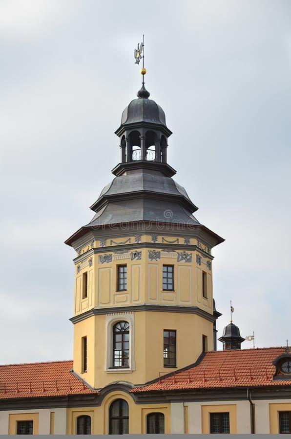 Castillo medieval de la torre imagen de archivo