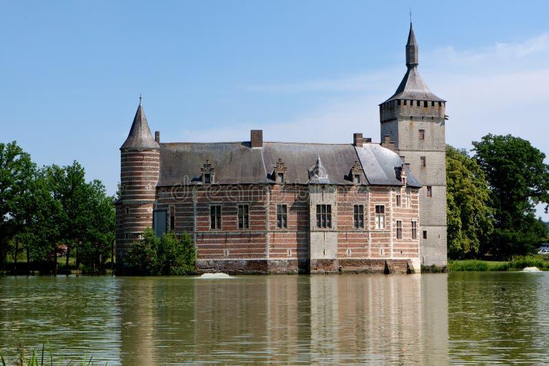 Castillo medieval Horst, Bélgica imágenes de archivo libres de regalías