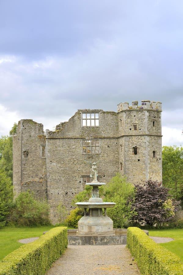 Castillo medieval, Irlanda foto de archivo libre de regalías