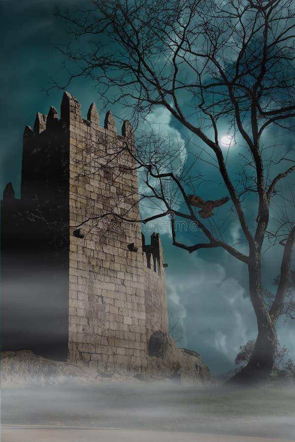 Castillo medieval Obidos portugal imagenes de archivo