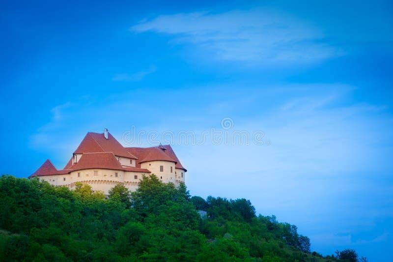 Castillo medieval viejo. Veliki Tabor, Croatia fotos de archivo libres de regalías