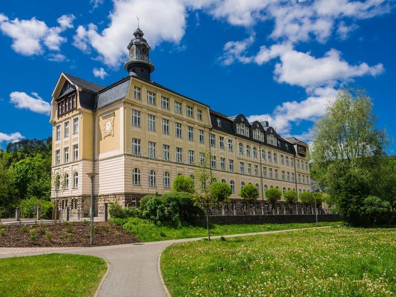 Castillo Meiningen fotografía de archivo libre de regalías