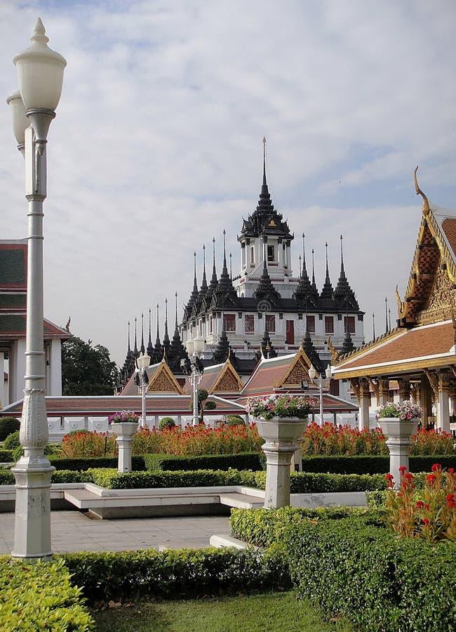 Castillo metálico en Bangkok, Tailandia foto de archivo libre de regalías