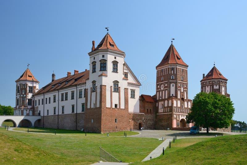 Castillo MIR, Bielorrusia fotografía de archivo libre de regalías