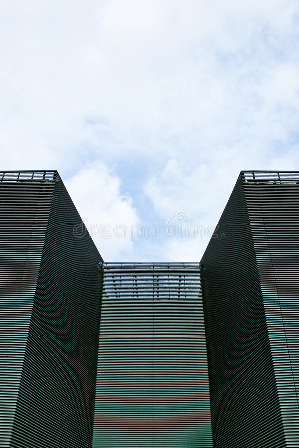 Castillo moderno imagen de archivo libre de regalías