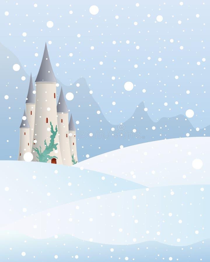 Castillo Nevado libre illustration