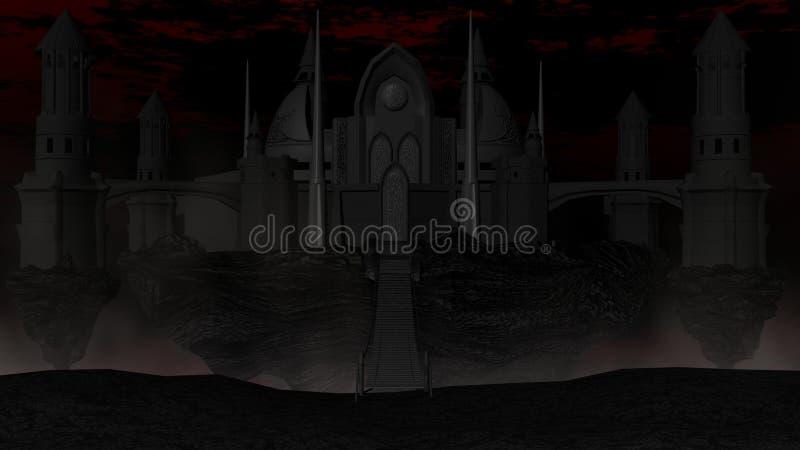 Castillo oscuro libre illustration