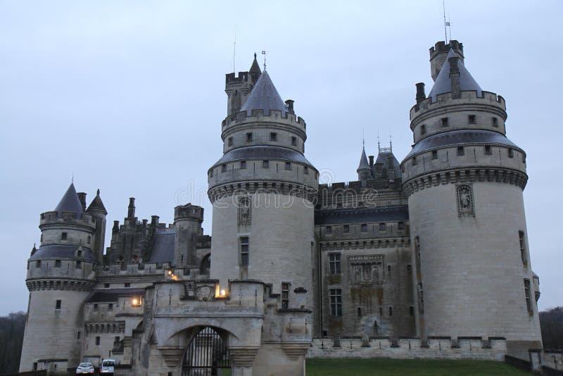 Castillo Pierrefonds fotos de archivo libres de regalías