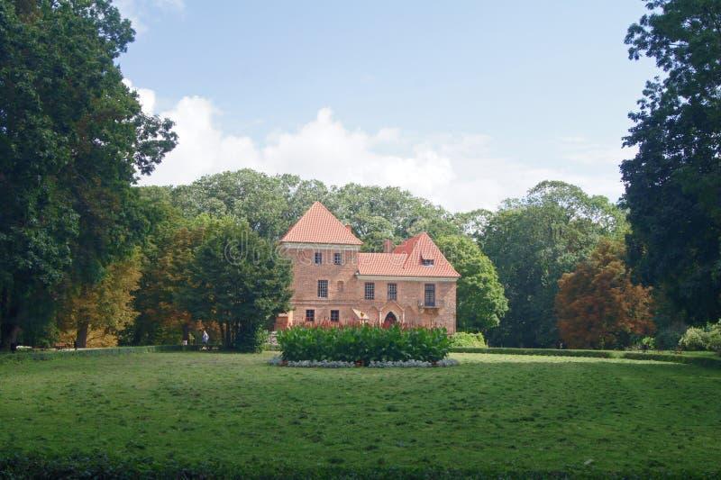 Castillo Polonia de Oporow imágenes de archivo libres de regalías