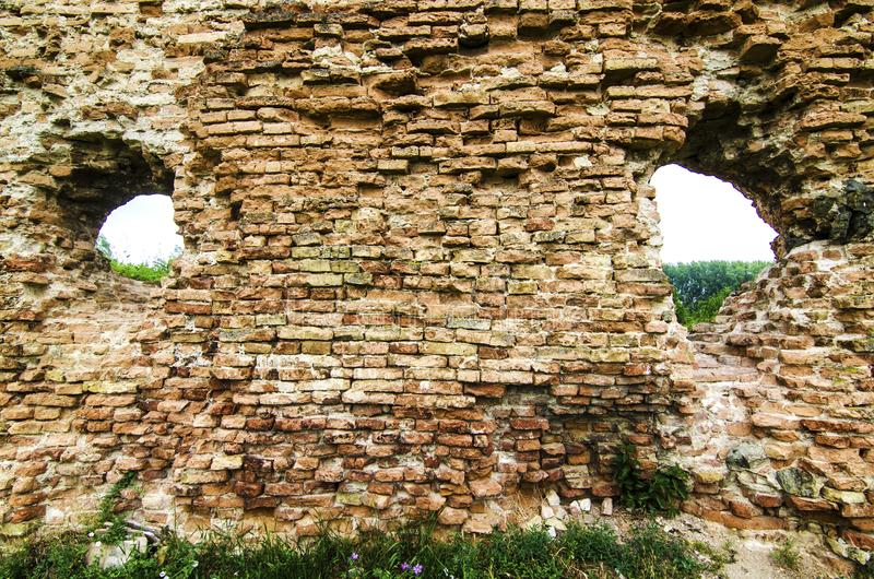 Castillo rústico viejo fotografía de archivo