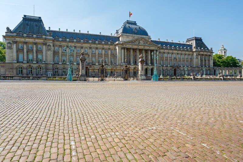 Castillo real de Laken, Bruselas imágenes de archivo libres de regalías