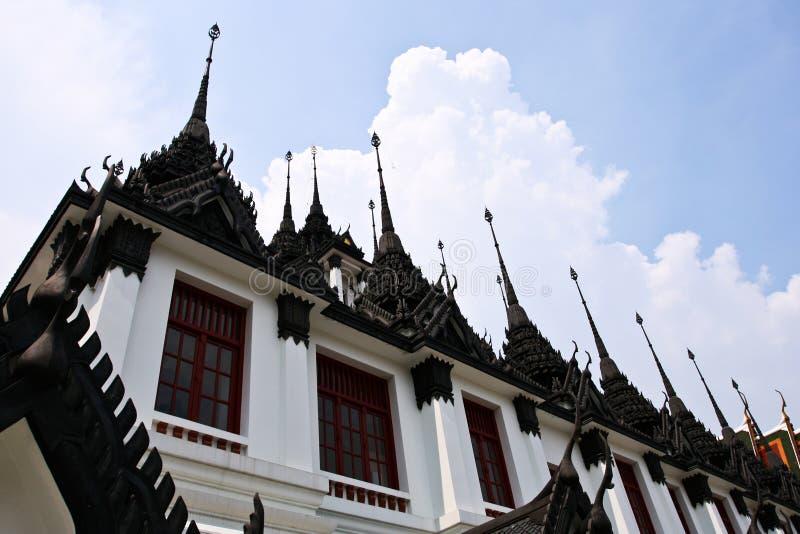 Castillo real Worawihan del templo del metal imagen de archivo