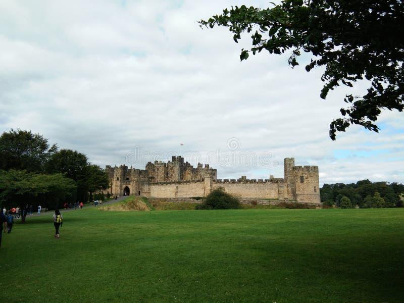 Castillo Reino Unido de Alnwick fotografía de archivo