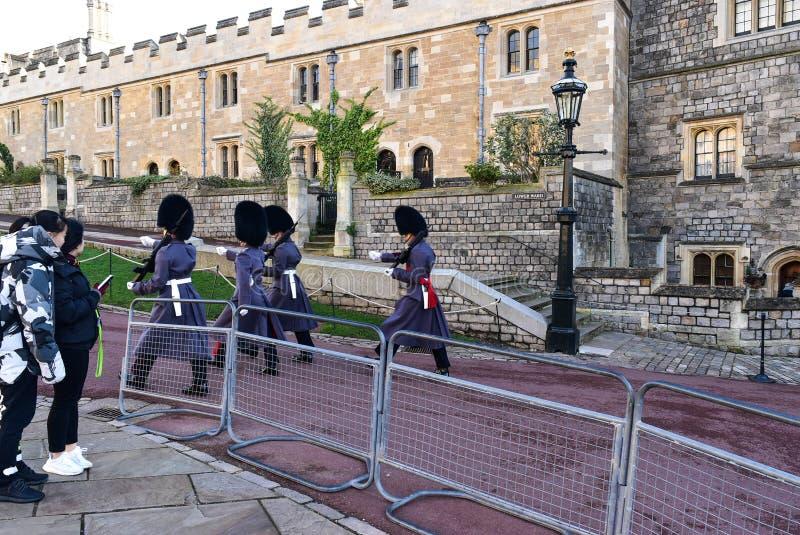 Castillo Reino Unido de Windsor foto de archivo libre de regalías
