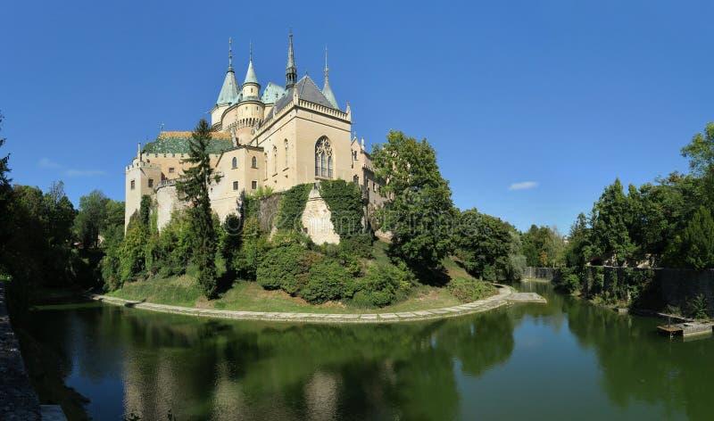 Castillo romántico de Bojnice fotografía de archivo