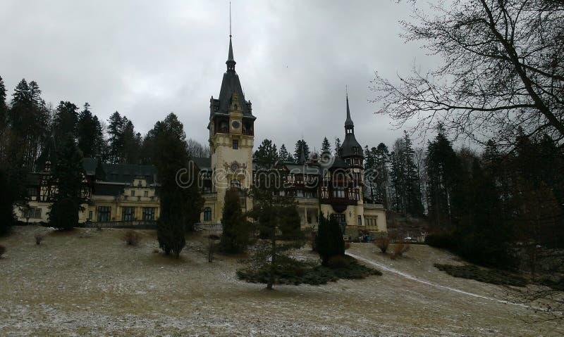 Castillo Rumania de Peles fotos de archivo libres de regalías