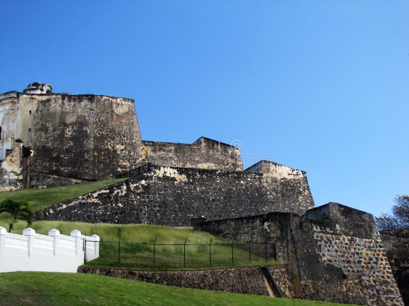 Castillo San Cristobal, San Juan Puerto Rico fotos de archivo