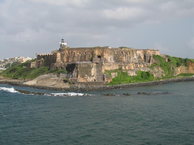 Castillo San Felipe del Morro fotografie stock libere da diritti