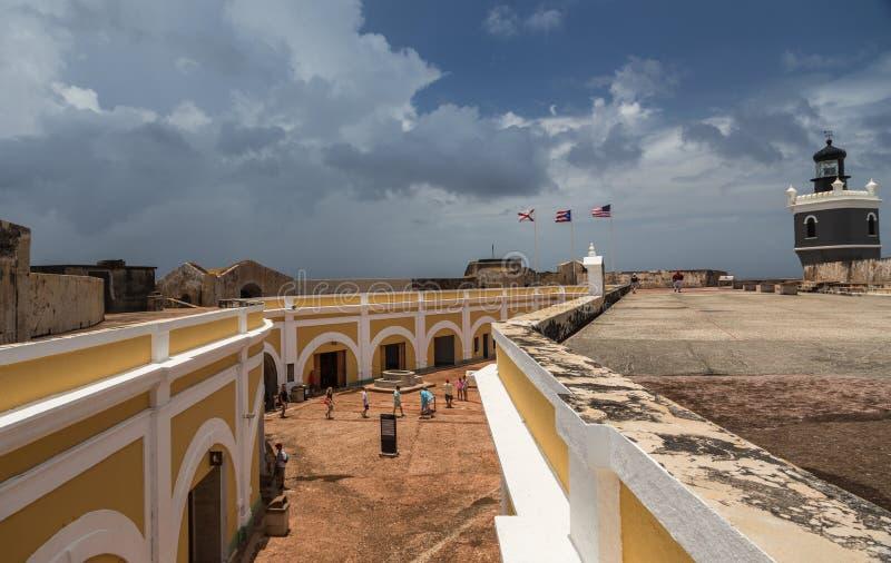 Castillo San Felipe del Morro immagini stock libere da diritti