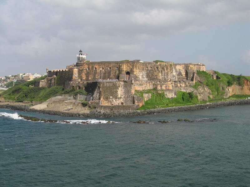 Castillo San Felipe del Morro royalty free stock photos