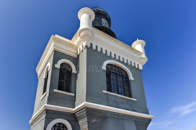 Castillo San Felipe Del Morro Latarnia morska zdjęcie stock