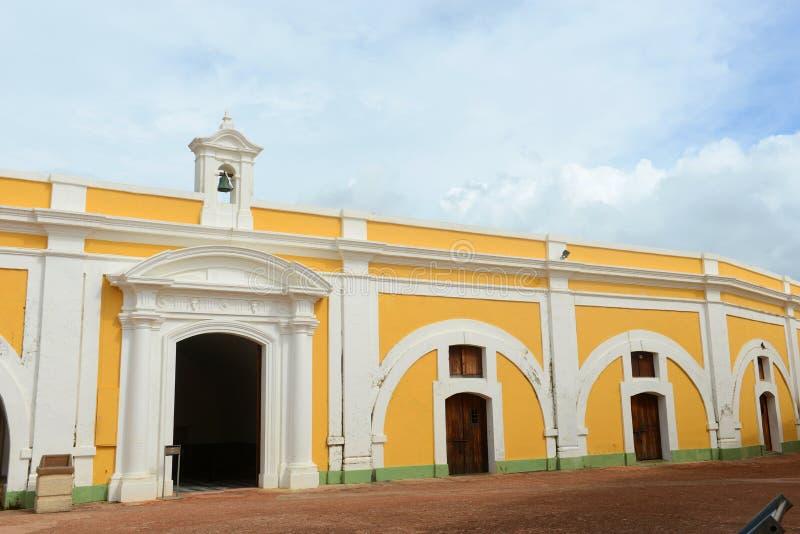 Castillo San Felipe del Morro, San Juan imagen de archivo