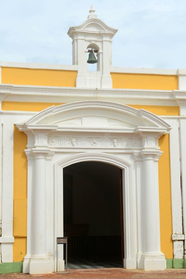 Castillo San Felipe Del Morro, San Juan obraz royalty free