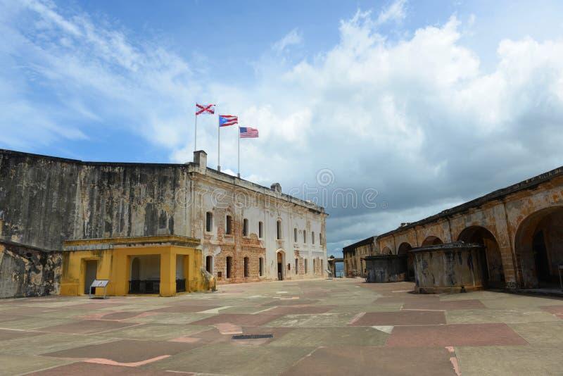 Castillo San Felipe Del Morro, San Juan obrazy royalty free