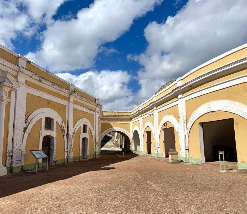 Castillo San Felipe del Morro, también conocido como EL Morro en viejo San Juan Puerto Rico foto de archivo