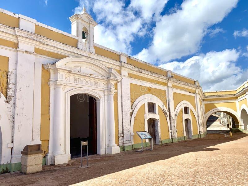 Castillo San Felipe del Morro, también conocido como EL Morro en viejo San Juan Puerto Rico imágenes de archivo libres de regalías