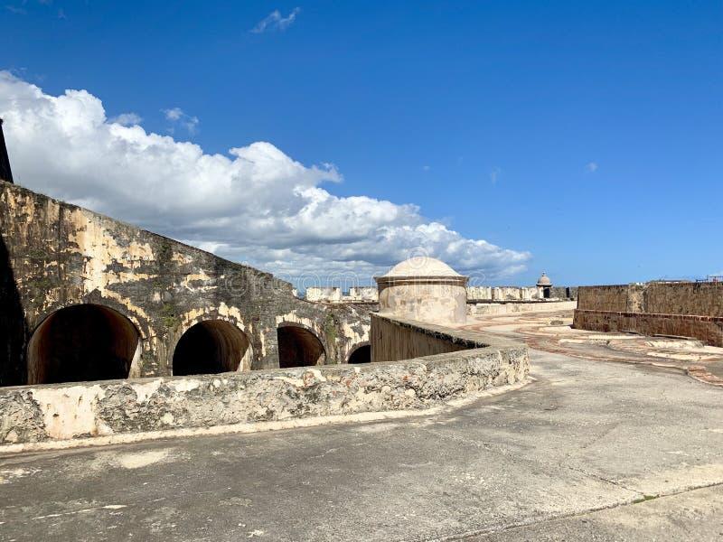 Castillo San Felipe del Morro, también conocido como EL Morro en viejo San Juan Puerto Rico fotos de archivo
